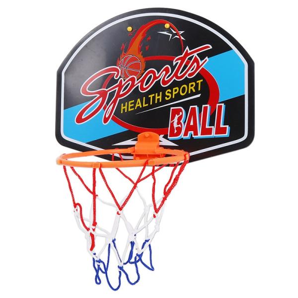 Adjustable Indoor Hanging Basketball Backboard Rim e