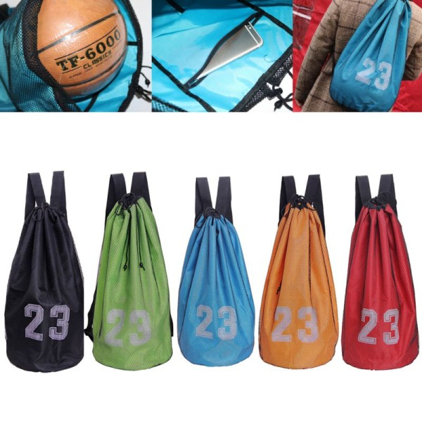 Basketball Bag Football Volleyball Bag  Storage Bag Multi-color black