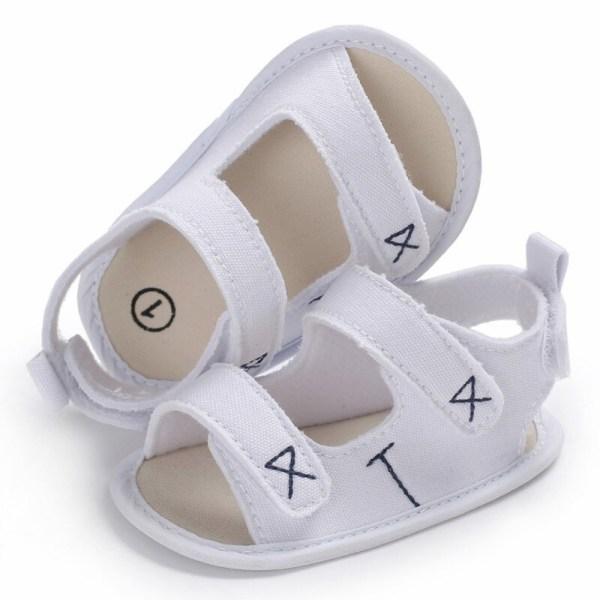 Boys Girls Cute Shoes Sandals Summer Soft Anti-skid Shoes White M