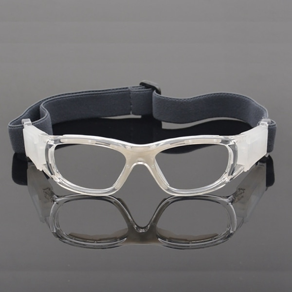 Children Adjust Sport Glasses Windproof Dust-proof Safety Goggle white