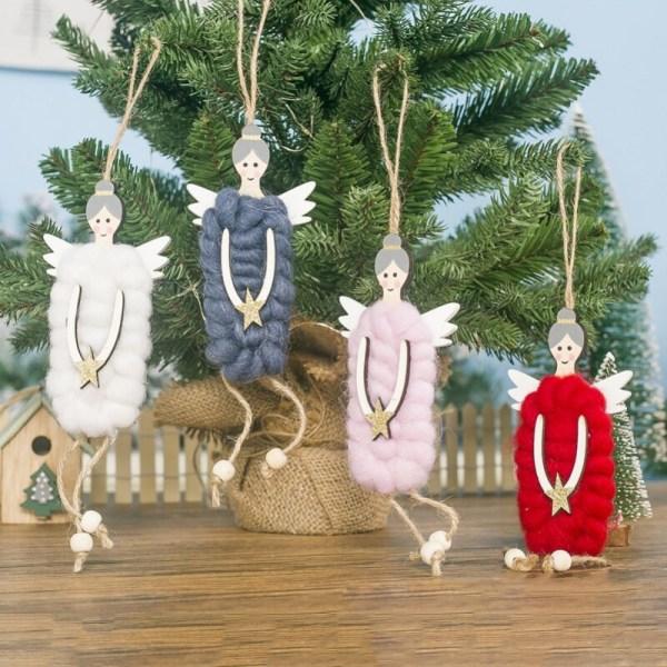 Julprydnad Söt ängeldocka Julgransprydnad