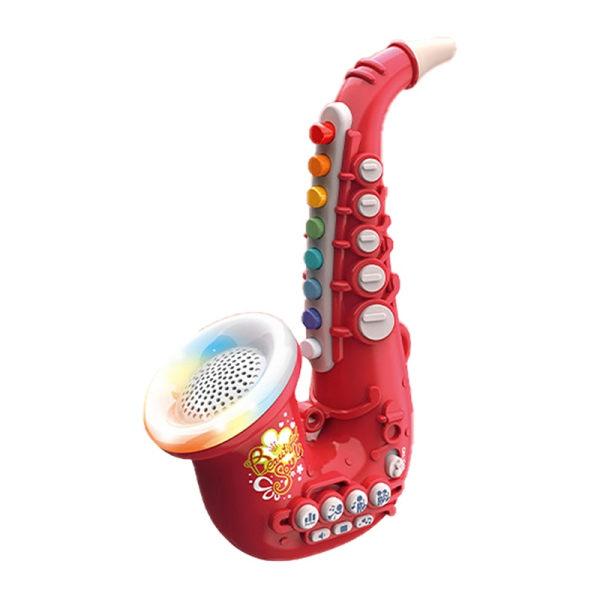 Tidiga pedagogiska leksaker Musikinstrumentleksak för flickapojke