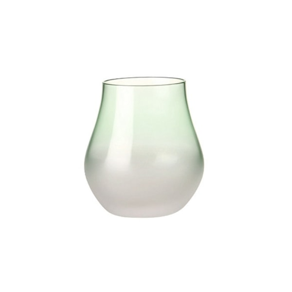 Glass Milk Flower Tea Breakfast Cup Household Small Fresh Cup candy green 360ml