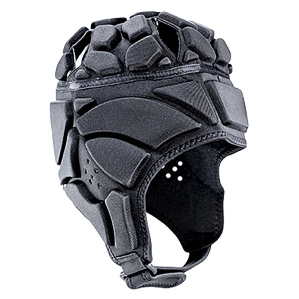 Goalkeeper Helmet Men Women Profession Anti-Collision Helmet Black L