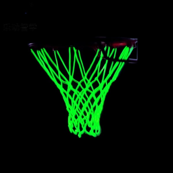 Heavy Duty Basketball Net Replacement Light Up Basketball Net white