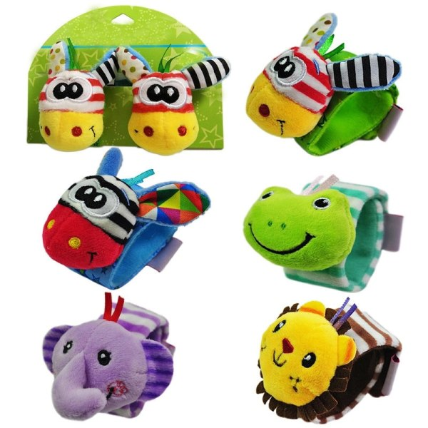 Spädbarn Baby Watch Band Baby Toy Maternity Toy Wrist Band Baby