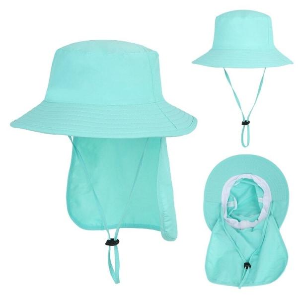 Barn sommar Beach Caps Kid utomhus resor justerbar klaff hatt