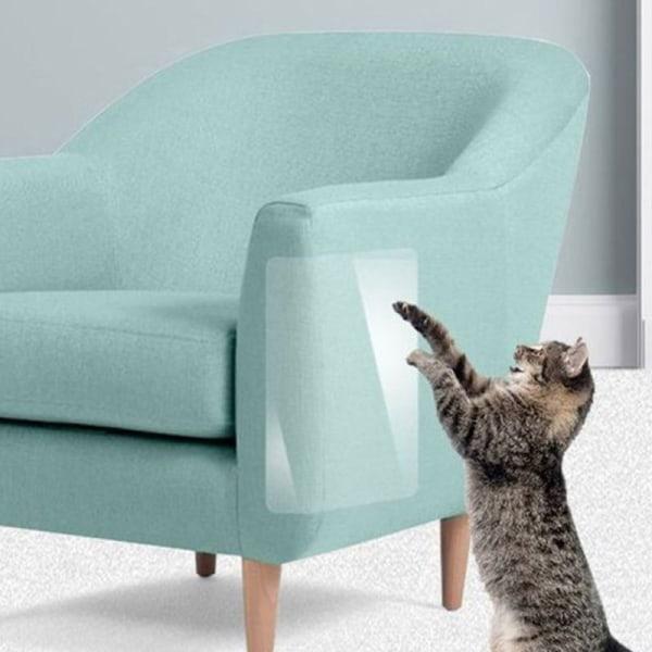 Kattunge spelmatta Soffskydd Clear Sticker Cat Accessories