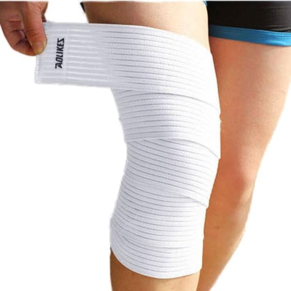 Män Kvinnor Knäarmbåge Handled Ankel Hand Support Wrap Sportbandage