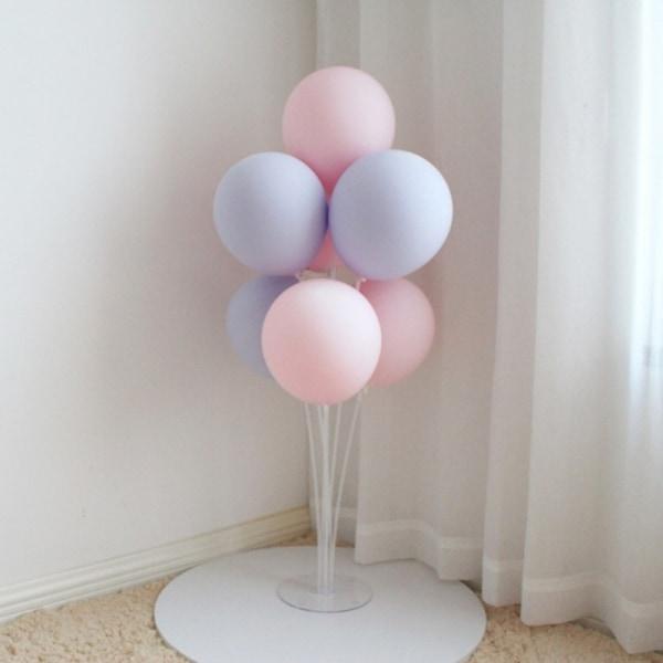 Party Balloon Stand Kit Genomskinlig ballonghållare