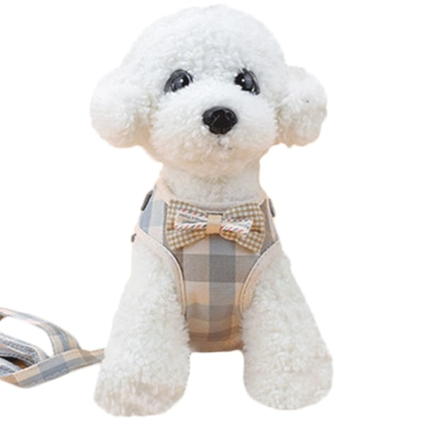 Pet Dog Chest Strap Pet Leash Small Dog Rope Pet Supplies pink S