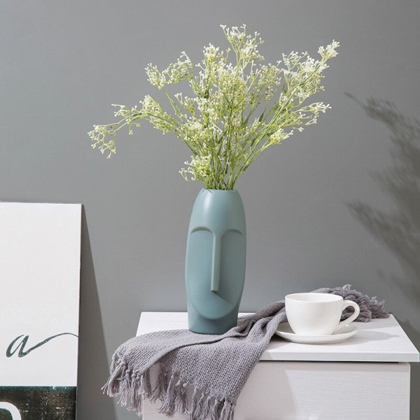 Vase imiterad keramisk blomma bröllop i europeisk stil