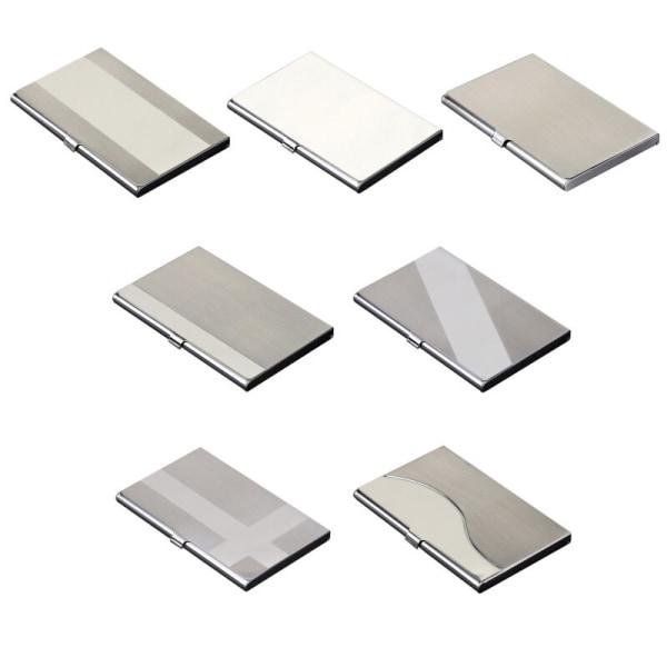 Professionellt affärsväska för metallvisitkorthållare