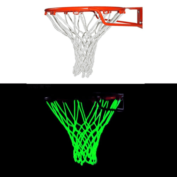 Replacement Outdoor Shooting Trainning Glowing Basketball Net Color random 45cm