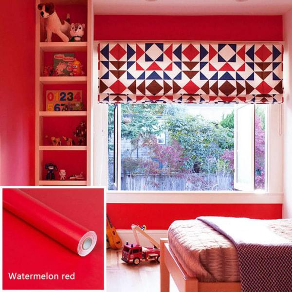 Självhäftande, avtagbar, vattentät väggdekal i enfärgad färg
