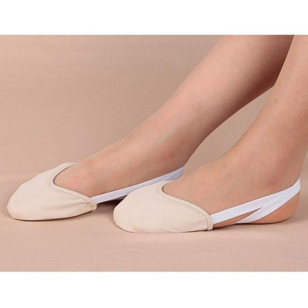 Soft Sole Ballet Pointe Dance Shoes Rhythmic Gymnastics Slippers beige 36 37