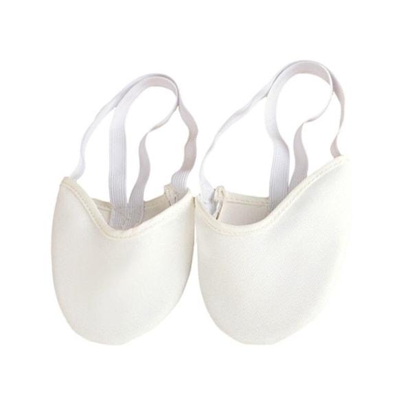 Soft Sole Ballet Pointe Dance Shoes Rhythmic Gymnastics Slippers white 36 37