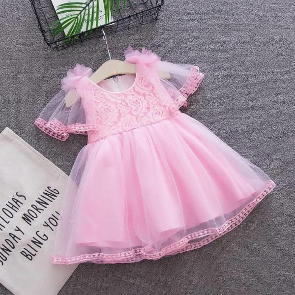 Sommar baby kläder flicka prinsessa festklänning