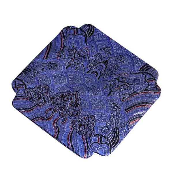 Bordsmatta PU-läder Värmeisolering Halkskål Skålplatta