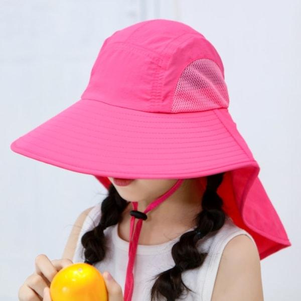 UV-skydd Solhattar Andningsbar Boy Girl Unisex Bucket Hats
