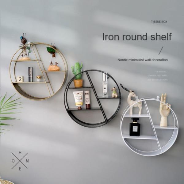Väggmetall träbokfigurer visar hantverkshyllor