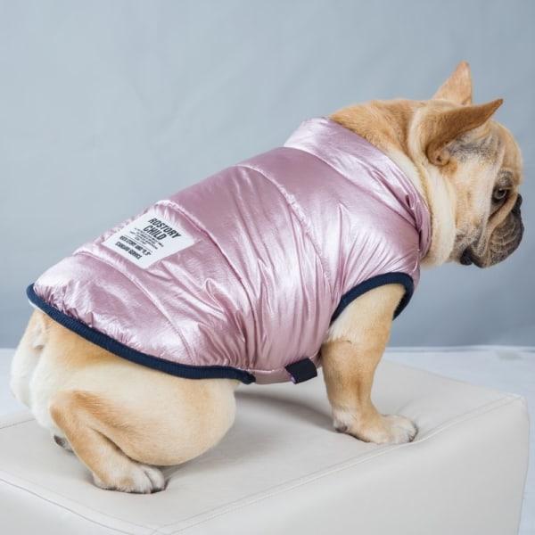 Vinterhundkläder Varm sällskapsvästjacka Bomull vadderad jacka