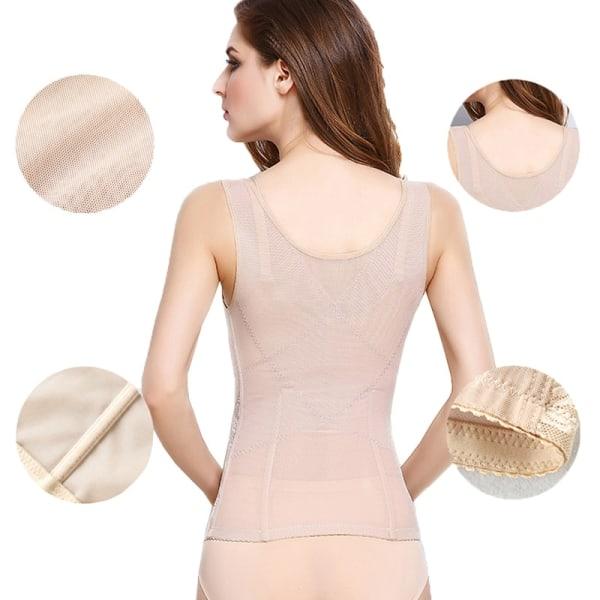 Kvinnor Body Shaping Lifting Bröst Midja Body Control Korsett Bälte