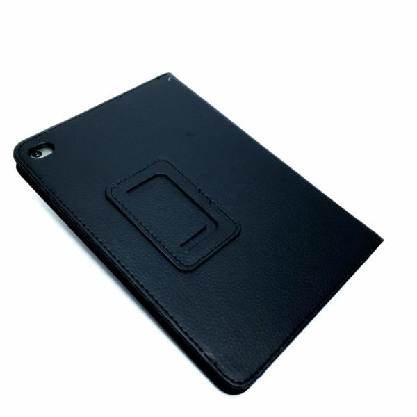 Fodral extra Elegant Svart läderfodral till iPad Mini (2019) Svart