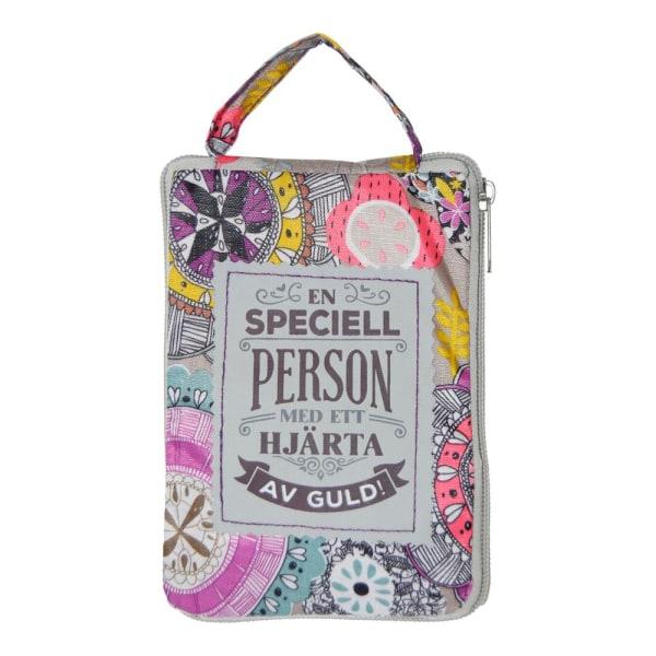 Shoppingkasse SPECIELL PERSON påse kasse multifärg
