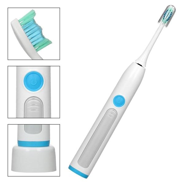Advanced Clean Sonic elektrisk tandborste med 1x borsthuvud och