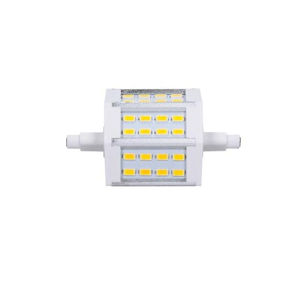 ECD Germany 10-pack R7S LED-lampor 5W 78mm 360 lumen SMD5730 AC