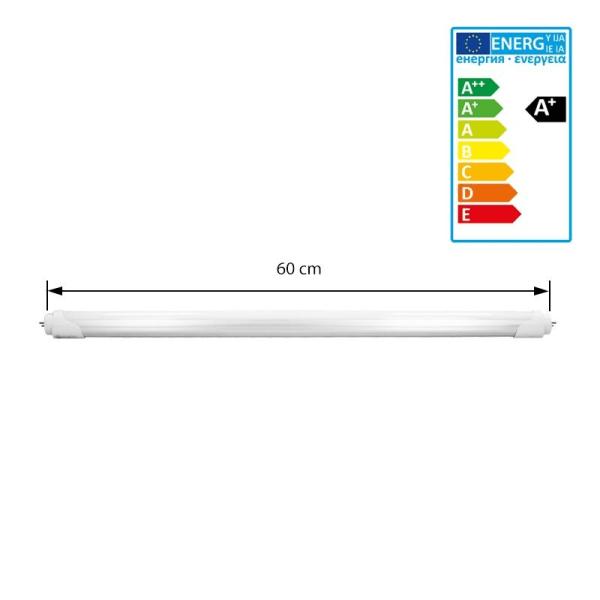 ECD Germany-paket med 16 LED-lysrör T8 G13 - 60 cm - 11W - SMD
