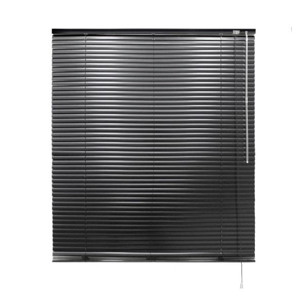 ECD Germany aluminium persienner 60 x 130 cm - svart - Svart