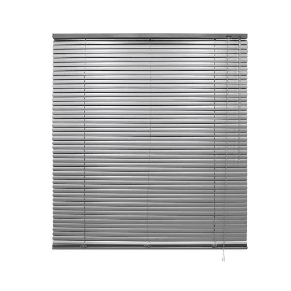 ECD Germany aluminium persienner 80 x 175 cm - silver - Silver