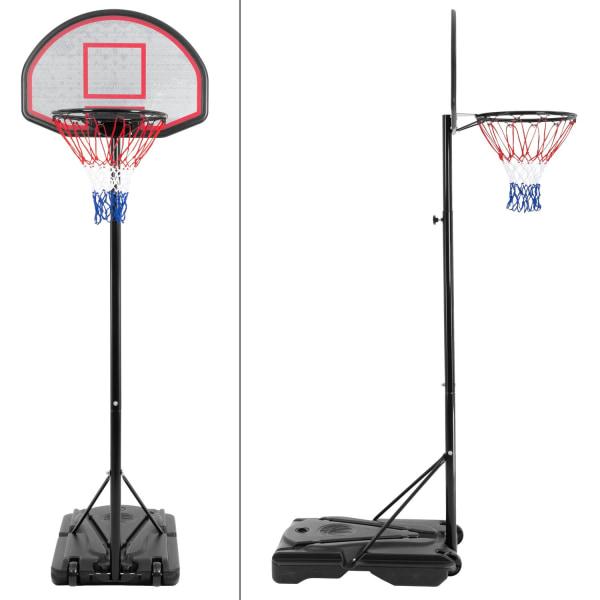 ECD Germany basket bärbar basketkorgen utomhus med fyllbara