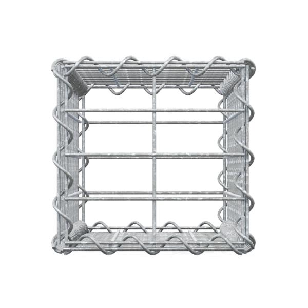 ECD Germany gabion vägg med lock 100x20x20cm galvaniserat stål