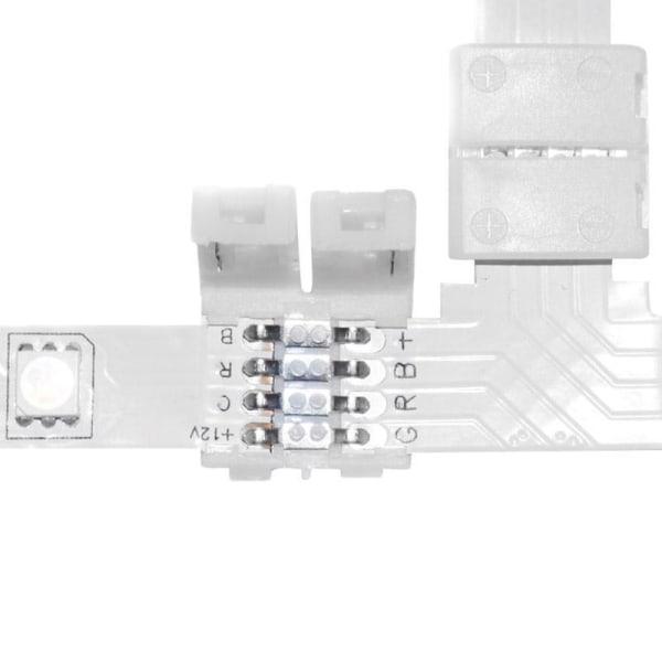 ECD Germany LED-042 T-kontakter för RGB Strip