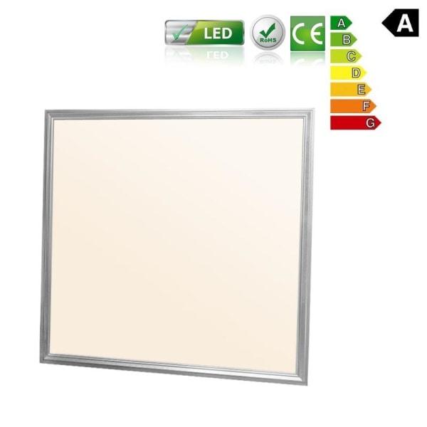 ECD Germany LED panelen 36W - 62 x 62 cm - 6-pack - Ultra tunna