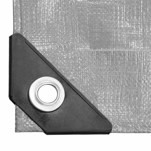 ECD Germany presenning tyg presenning med öglor 6x12m 72m² 260g