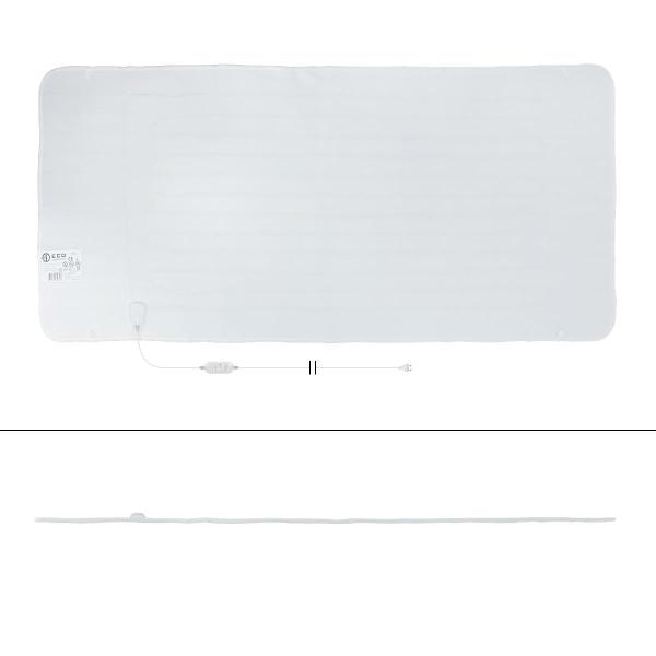 ECD Germany uppvärmd filt med överhettningsskydd 189 x 80 cm -