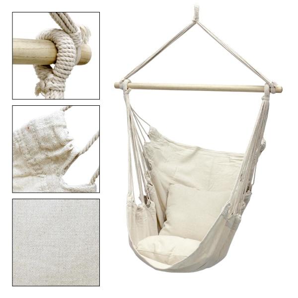 Hängande stol hängande stol hängande swing ampel hängmatta med