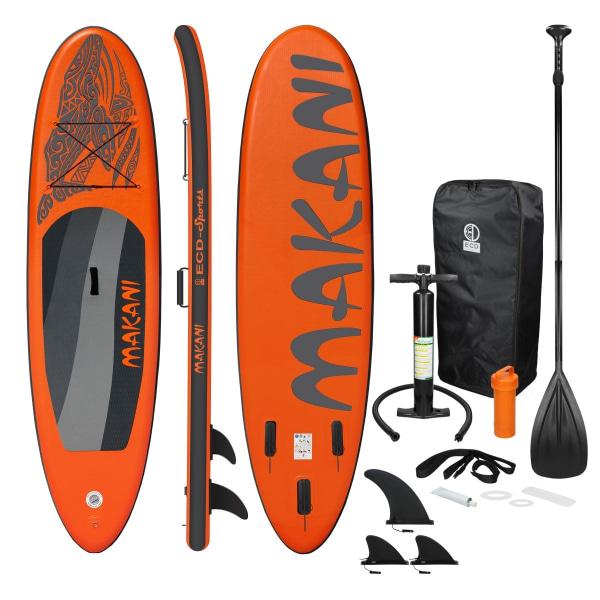 Surfingbräda Stand Up Paddle SUP styrelse Makani paddel ombord