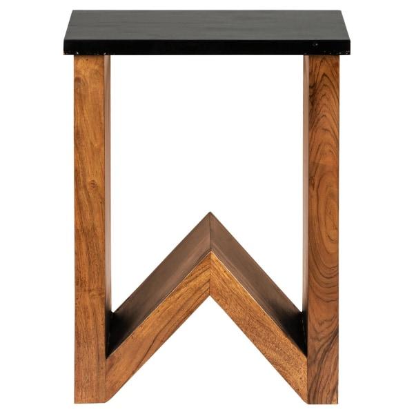 """WOMO-DESIGN soffbord soffbord soffbord massivt trä akacia """"W"""""""