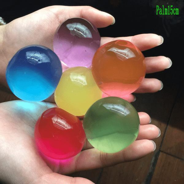 35 förp Gigantisk Vatten kristaller 5 färger 0,8-1 cm flerfärgad