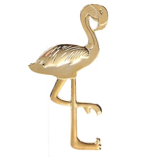 Flamingo sommar flasköppnare guld