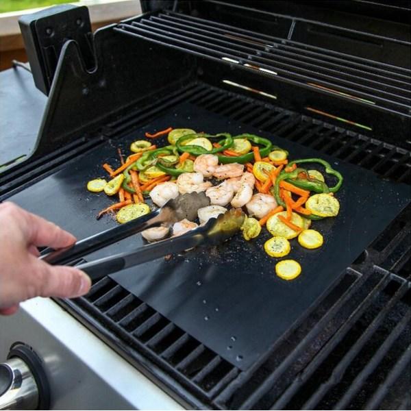 1-PACK Grillmatta teflon, grill matta, BBQ, tillbehör