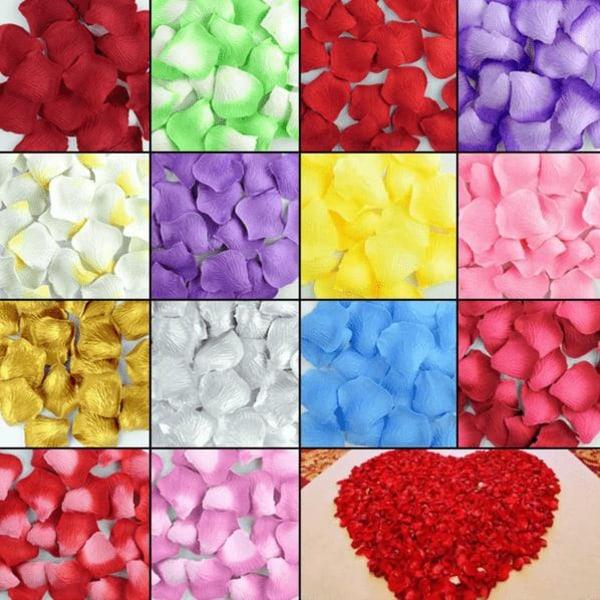 200-pack Rosenblad olika färger