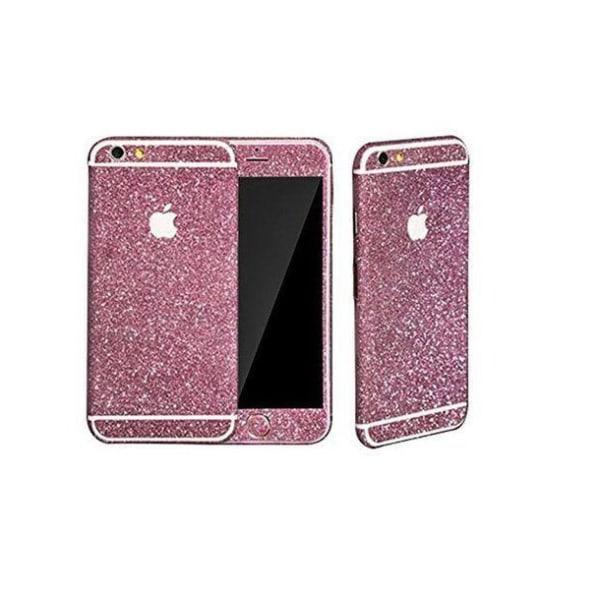 Glitterskydd - Iphone 6/6s - Olika färger silver