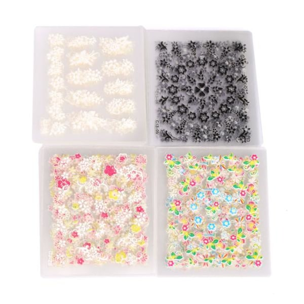 Nagelstickers 3D 20 Pack