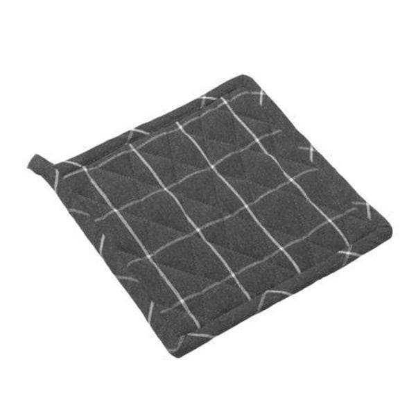 Bastian Grytlapp recycle, rutig mörkgrå grå